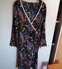 Nova asos crna sarena haljina