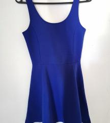H&M plava haljina