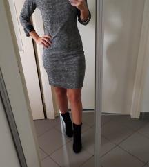 prodajem sivu haljinu