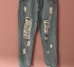 Hlače mom jeans