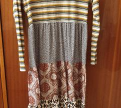Maxi haljina u blokovima - L