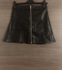 Kožna suknja- H&M