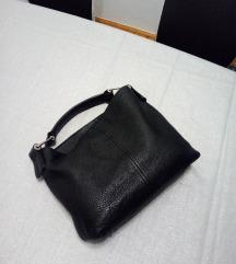Crna, kožna torba