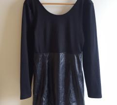 🖤 Crna 'kozna' haljina M/38