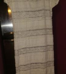 Vero moda čipkasta haljina, L