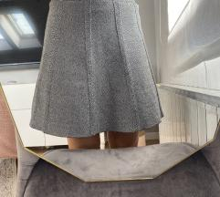 Zara siva suknja