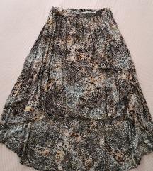 Timeout asimetrična suknja