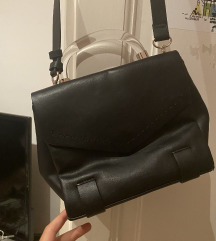Zara torbica faux leather