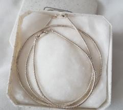 Srebrni set ogrlica i narukvica
