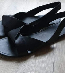 Vagabond kožne crne sandale