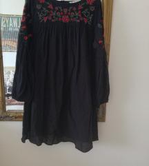Zara vezena haljina