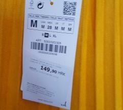 Zara nova plisirana suknja vel.M
