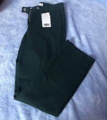 Mango zelene poslovne hlače S XS