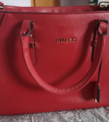 Guess real leather torba
