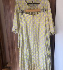 Zara komplet (suknja L, majica XL)