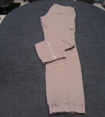 BENETTON smeđe pamučne hlače
