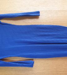 Plava haljina do koljena