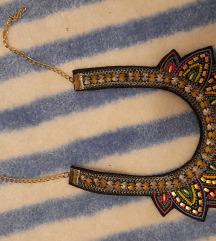 Boho kragna ogrlica