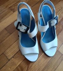 Sandale bijele koza