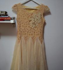 Nova romantična lepršava haljina, S