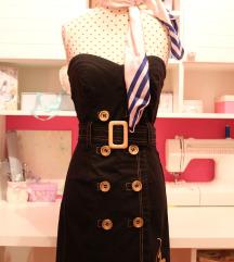 REZZ! Baby Phat uska crna uniformirana haljina 🐈