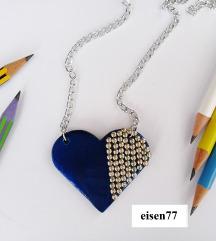 Novo srce lančić+privjesak