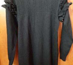 Crna nova debela haljina/tunika