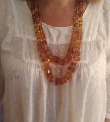 Pravi baltički jantar ogrlice
