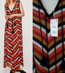 Nova Zara lanena haljina S/M