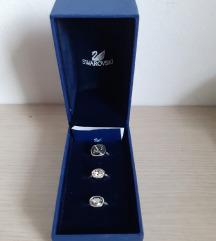 Swarovski triset prstena