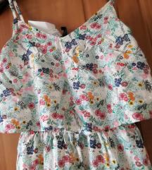 H&M cvjetna haljina vel. XS  ( NOVA )