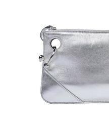 J.W.ANDERSON srebrna kožna torbica