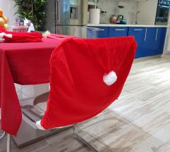 NOVO! Božićne navlake za stolice! 4kom