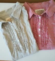 Bluzice/majce, pamučne,  2 kom