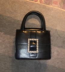 Crna torbica koža