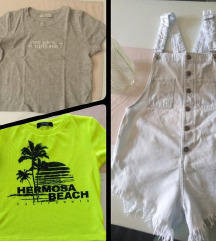 Bershka kratki kombinezon + 2 majice gratis