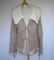 D&G krznena jakna bundica na dvije strane