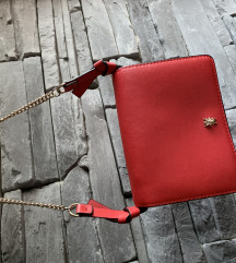 Crvena zara torbica