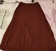 Vintage plisirana zimska suknja