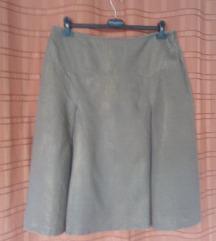 Suknja lanena A kroja
