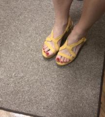 ZARA žute sandale