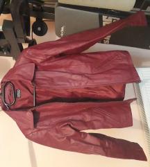 Zenska kozna jakna s