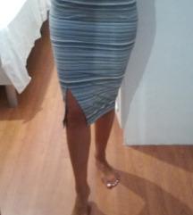 Pencil suknja visokog struka