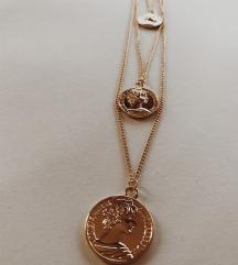Ogrlica Medaljon