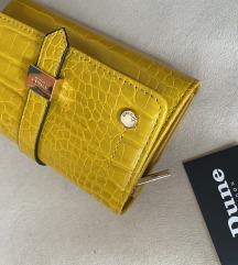 Novčanik žuti