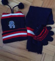 Sal,kapa i rukavice (novo)