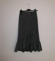 Zara karirana suknja NOVA