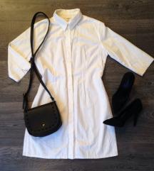 Bijela duža košulja / haljina