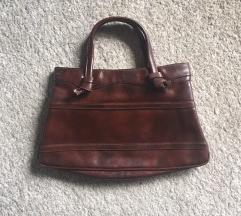Vintage smeđa torba
