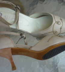 Retro cipele, prava koža, 40